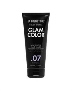 Тонирующая маска для волос No Yellow 07 Crystal Glam Color La biosthetique (франция волосы)