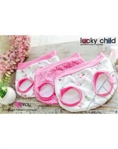Трусы для девочки Маленькая садовница 3 шт Lucky child