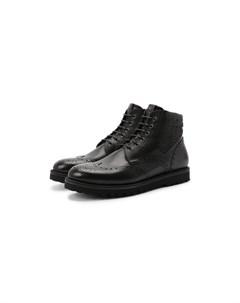 Комбинированные ботинки W.gibbs
