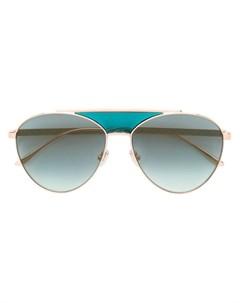 Солнцезащитные очки авиаторы Jimmy choo eyewear