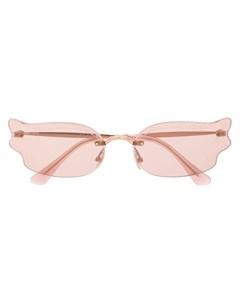 Солнцезащитные очки Ember S BKU 2S Jimmy choo eyewear