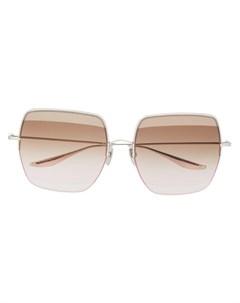 Солнцезащитные очки Metamet в массивной оправе Dita eyewear
