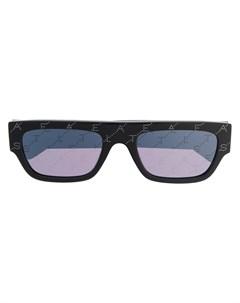 Солнцезащитные очки в прямоугольной оправе Stella mccartney eyewear