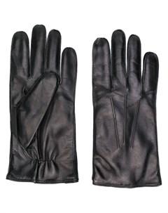 перчатки с декоративной строчкой Ann demeulemeester