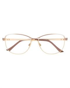 очки с прямоугольной оправе Cazal