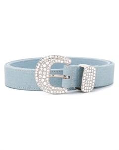 Ремень с декорированной пряжкой B-low the belt