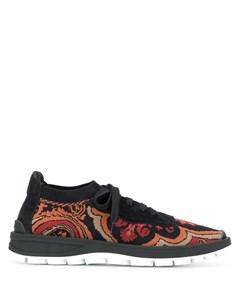 кроссовки на шнуровке Etro