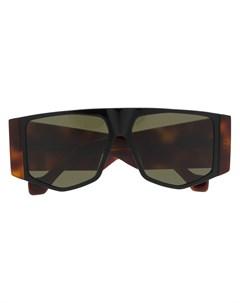 солнцезащитные очки авиаторы с затемненными линзами Loewe