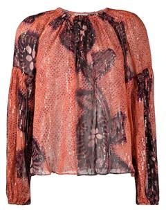 Блузка Sanaya с длинными рукавами Ulla johnson