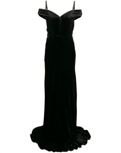Декорированное платье макси Ayla Maria lucia hohan