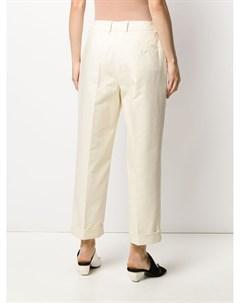 Укороченные брюки со складками Christian wijnants