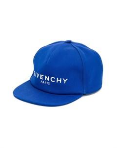 кепка с вышитым логотипом Givenchy kids