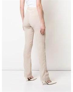 Фактурные брюки Nomia