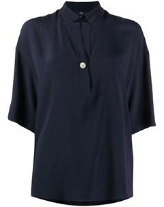 Рубашка свободного кроя с короткими рукавами Fay