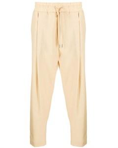 Укороченные брюки с кулиской Drôle de monsieur
