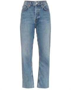 Укороченные брюки с завышенной талией Re/done