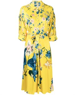 Платье рубашка с цветочным принтом Antonio marras