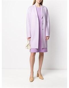 Однобортное пальто Cocoon Harris wharf london