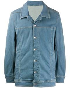 Джинсовая куртка оверсайз Rick owens drkshdw