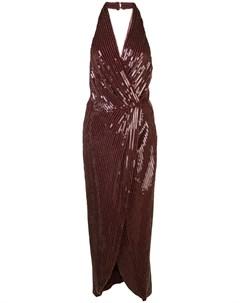 Платье миди Aurora с пайетками Haney