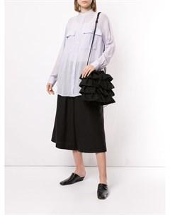 Блузка с воротником стойкой Y's