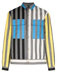 Куртка рубашка Arman в полоску Sunnei