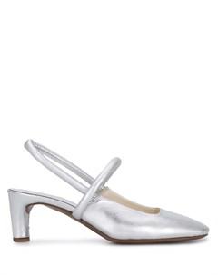 Туфли с ремешком на пятке Del carlo