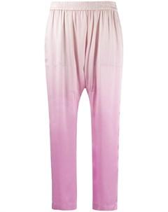 Укороченные брюки с эффектом омбре Raquel allegra