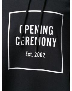 Худи свободного кроя с логотипом Opening ceremony