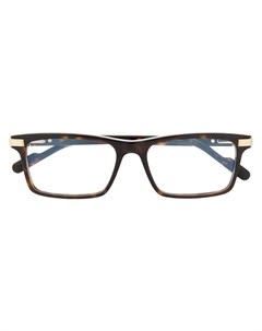 очки в прямоугольной оправе Cartier eyewear