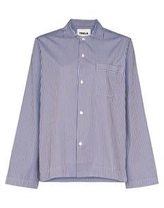 Пижамная рубашка в полоску Tekla