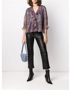 Блузка с принтом пейсли Zadig&voltaire