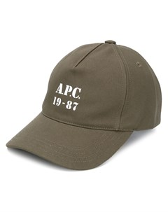Кепка Stamped Logo A.p.c.