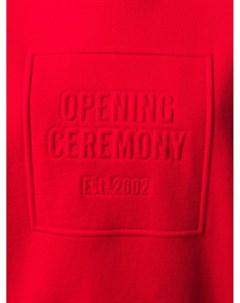 Толстовка с круглым вырезом и тисненым логотипом Opening ceremony