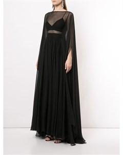 Платье кейп Flyaway Zuhair murad