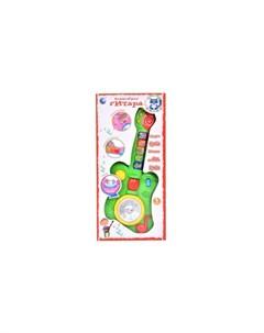 Музыкальный инструмент Гитара со звуковыми и световыми эффектами Tongde