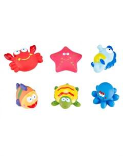 Набор игрушек для ванной Морские обитатели Roxy kids