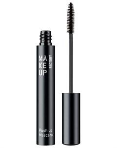 Тушь для ресниц с эффектом увеличения Чёрный Make up factory