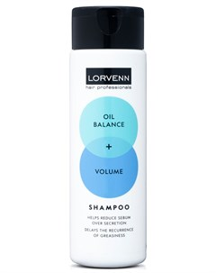 Шампунь Объем баланс для жирных волос Lorvenn