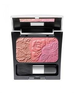 Румяна Розовый персиковый абрикосовый Make up factory
