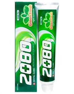 Зубная паста зеленый чай Dental clinic 2080
