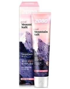 Зубная паста розовая гималайская соль Dental clinic 2080