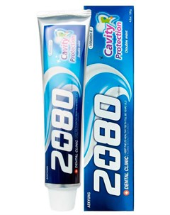 Зубная паста натуральная мята Dental clinic 2080