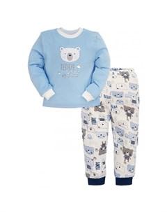 Пижама для мальчика Малыш тедди Milimbi