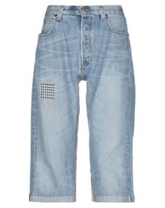 Джинсовые брюки капри Atelier & repairs