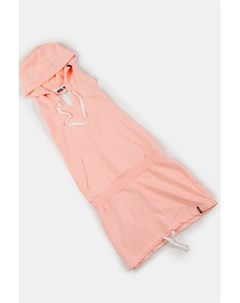 Платье Holdback с открытой спиной и капюшоном Peach S Emblem