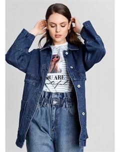 Парка из джинсовой ткани Ostin