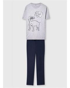 Пижама из хлопка Ostin