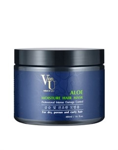 Маска для волос Aloe Moisture Hair Mask Von u