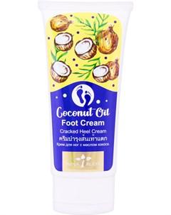 Крем для ног Coconut Oil Foot Cream Nina buda